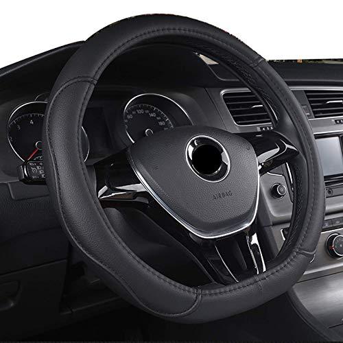 Cubierta para volante de coche tipo D, para Volkswagen VW Polo 2015~2021 Scirocco 2008~2021 Arteon C