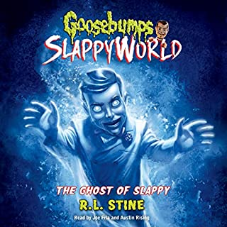 The Ghost of Slappy  audiobook cover art