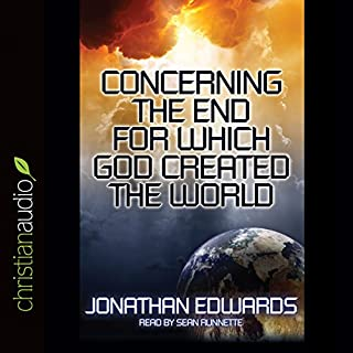 Concerning the End for Which God Created the World cover art
