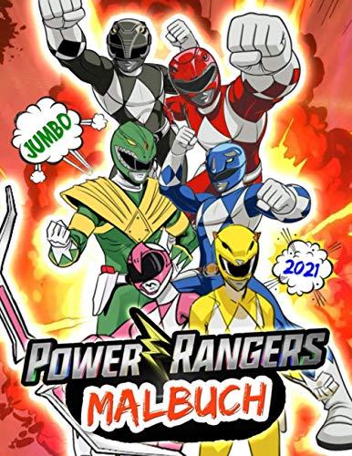 Power Rangers Malbuch: Power Rangers Malbuch: Perfekte Ausgabe für Kinder im Alter von 4-12