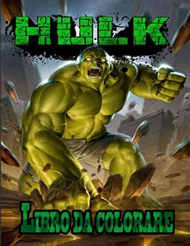 Hulk libro da colorare