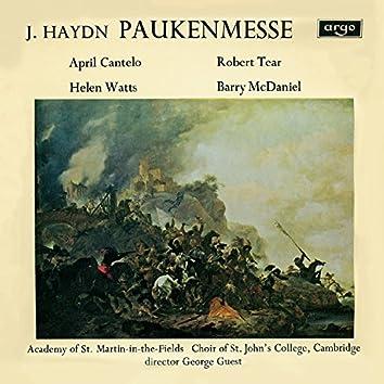 "Haydn: Missa in tempore belli - ""Paukenmesse"" / M. Haydn: Ave Regina"