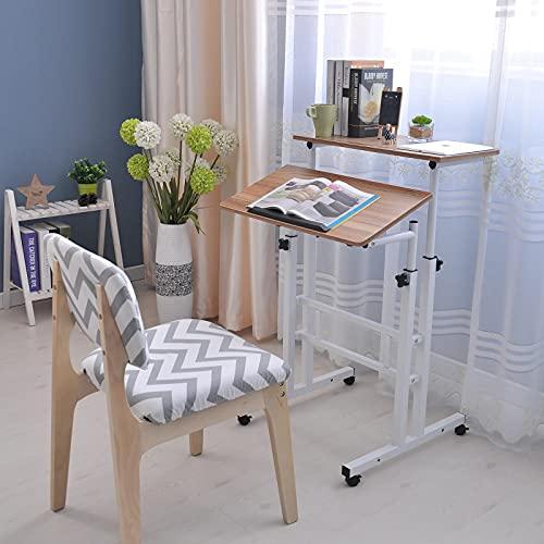 Yidata Mesa de ordenador portátil Escritorio de pie para estación de trabajo de altura ajustable Escritorio portátil ergonómico bandeja de escritorio