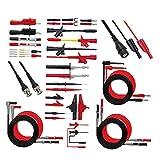Consejos de pruebas de cable de prueba del multímetro de plomo kit de sondas de prueba Kit P1600F reemplazable Set para Digital Multi medidor de potencia Accesorios Tester