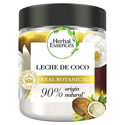 Herbal Essences bio:renew Mascarilla Hidratación, Leche de Coco 250ml, con ph neutro e ingredientes naturales