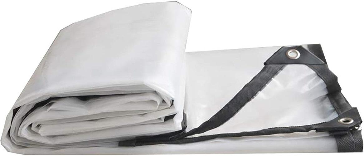 QING MEI-Bache Imperméable épaisse Transparente Imperméable à l'eau De Tissu en Plastique Toile De Pluie Toile De Pluie Bache De Pluie Bache Isolante Imperméable A+ (Taille   10×10m)