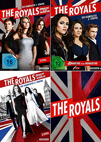 The Royals Staffel 1+2+3 (1-3) DVD Set