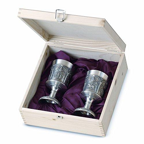 Artina 60114 - Copa de Vino en Caja de Madera, diseño Alberto Durero
