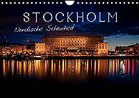 Stockholm - Nordische Schoenheit (Wandkalender 2022 DIN A4 quer): Die Stadt der Inseln (Monatskalender, 14 Seiten )