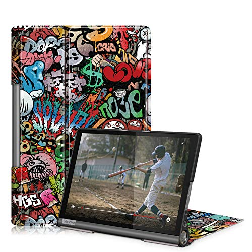 TOPCASE Compatible with Lenovo Yoga Smart Tab 10.1 YT-X705 Tablet Case...