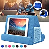 Yoruii Soft Pillow for ipads, Multi-angle Phone Pillow Lap Stand, Universal ipad Tablet Reading Stand Pillow Holder for ipads, Tablets, EReaders, Smartphones, Books, Magazine
