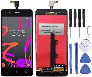 Reparationssats för mobiltelefoner LCD-skärm och digitaliserare full montering för BQ Aquaris M4.5 (svart) reservdel (färg...