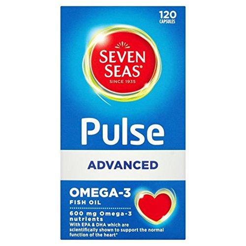 Seven Seas Pulse Advanced Omega-3 Capsules 120's 120 per pack