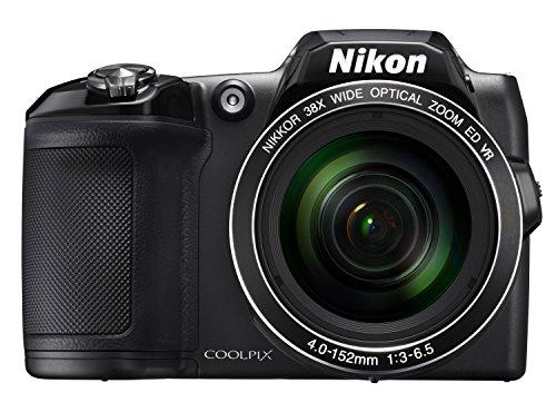 Nikon Coolpix L840 Digitalkamera (16 Megapixel, 38-Fach Opt. Zoom, 7,6 cm (3 Zoll) LCD-Display, USB 2.0, bildstabilisiert) schwarz