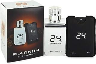 24 Platinum Oud Edition Men's Eau de Toilette 100 ml + 24 ml Pocket Spray