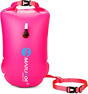 20L Waterproof Dry Bag, Ultralight Swim Buoy and Safety Float for Open Water Triathletes, Kayak, Snorkeling,Surfers, Beach...