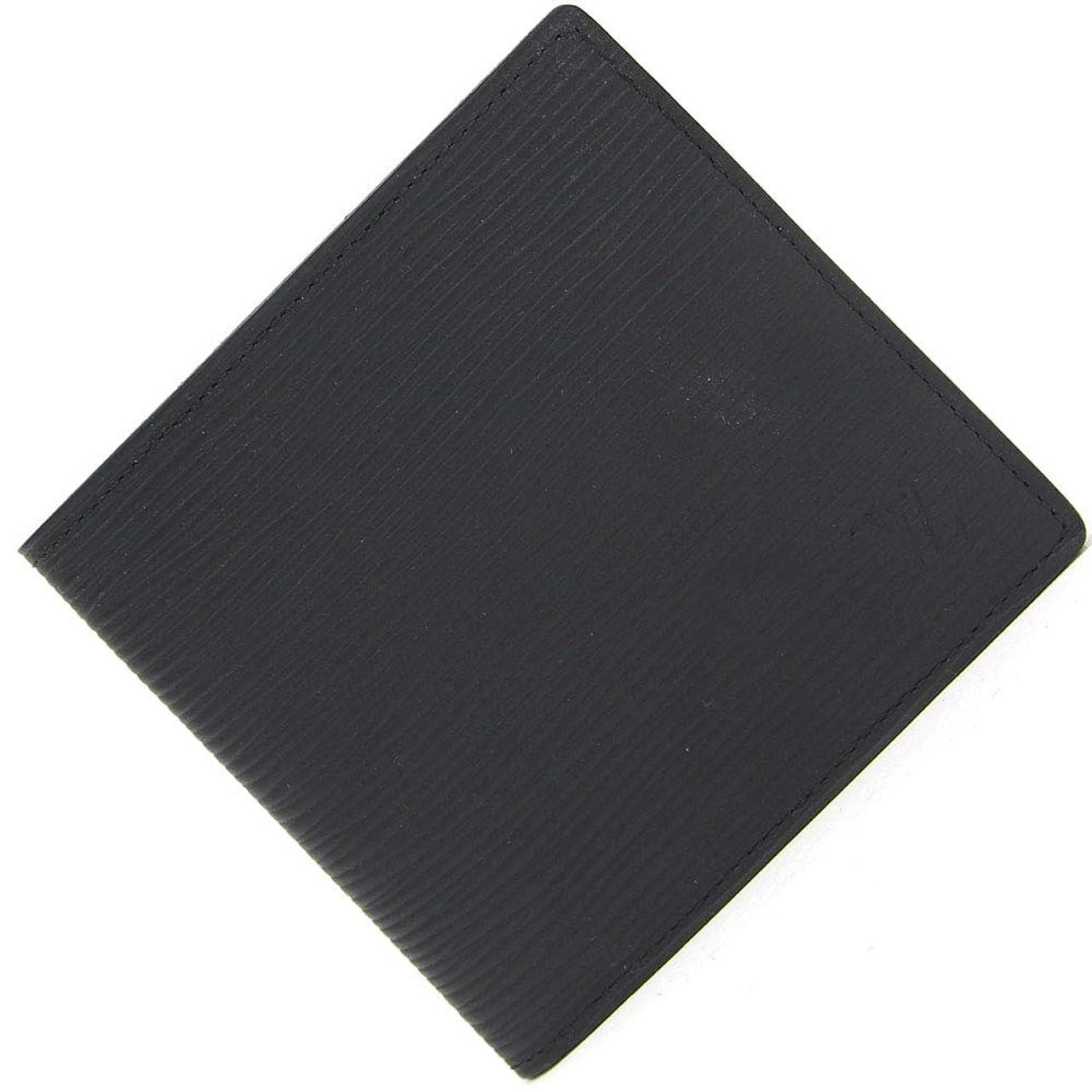 タイヤ性別ワインLOUIS VUITTON(ルイヴィトン) 二つ折り財布 エピ ポルトフォイユ マルコ N6612 ノワール 中古 黒 ブラック ウォレット マット LOUIS VUITTON [並行輸入品]