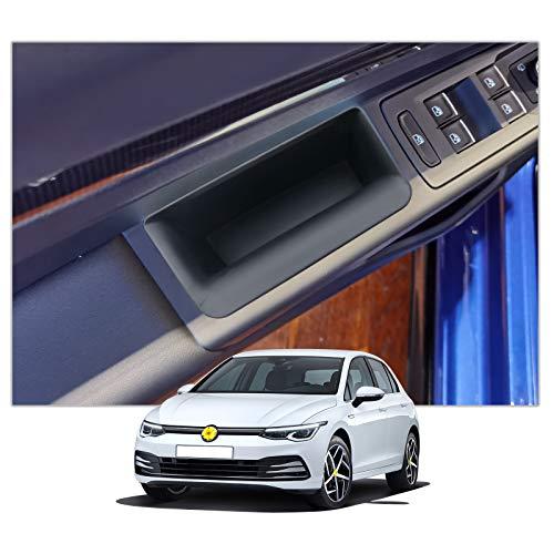 [4 Pezzi] CDEFG per Golf 8 2020 Auto Porta Maniglia Scatola di Immagazzinaggio Vassoio Porte Portaoggetti Interni Organizer Accessori