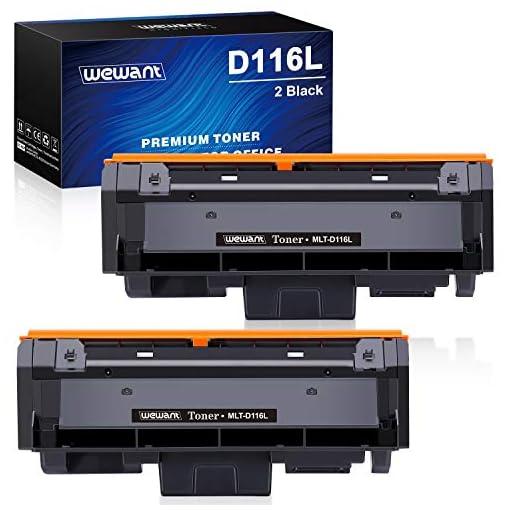 Wewant Toner D116L Reemplazo para Samsung MLT-D116L D116S Cartucho de Tóner Compatible con Samsung SL M2825 M2825ND… 1
