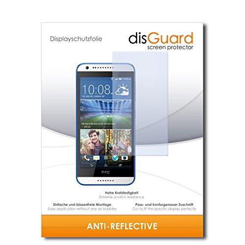 disGuard Bildschirmschutzfolie für HTC Desire 620G Dual SIM [4 Stück] Anti-Reflex, MATT, Entspiegelnd, Extrem Kratzfest, Anti-Fingerabdruck - Bildschirmschutz, Schutzfolie, Panzerfolie