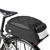 Alforjas Bicicleta Trasera Impermeable Bolsa Trasera Bicicleta Bolsas de Bicicleta para la Parte Trasera Bicicleta Accesorios
