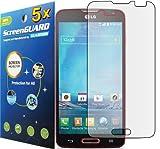 5x LG Optimus L90 D405 D415 (T-Mobile) Premium Clear LCD Screen Protector Guard Shield Cover Film Kit (GUARMOR Brand)