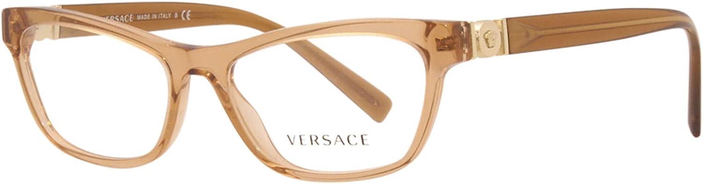 Eyeglasses Versace VE San Francisco Mall 3272 Sales 5304 TRANSPARENT BROWN