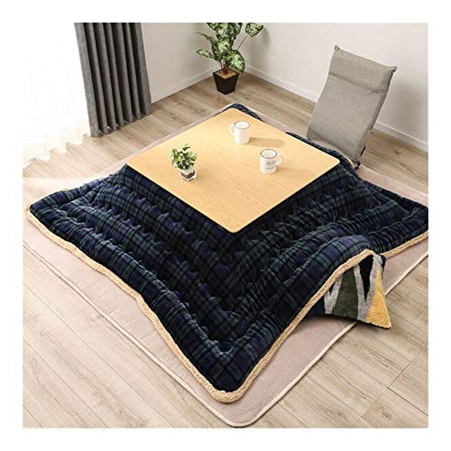 AntiGnor Luxury Kotatsu Futon Blanket Patchwork Style Cotton Soft Quilt Japanese Kotatsu Table Cover Square/Rectangle Comforter 190/240 (Size : 190x240cm)