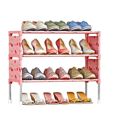 HYAN Zapatero Ensamblaje de Zapatos de Zapatos Simple 3 Niveles Ensamblaje de Zapatos Gabinete de zapatería Organizador de Almacenamiento de Zapatos para Entrada, Pasillo y Armario Caja de Zapatos