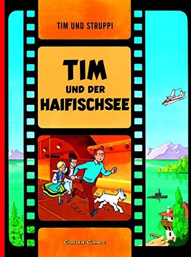 Tim und Struppi, Carlsen Comics, Neuausgabe, Bd.23, Tim und der Haifischsee: Kindercomic für Leseanfänger ab 8 Jahren