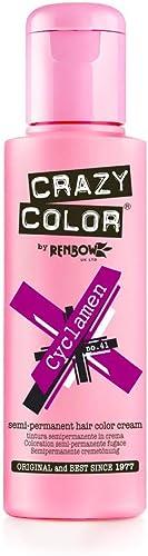 Renbow Crazy Colour Temporary Hair Dye - Cyclamen - 100ml