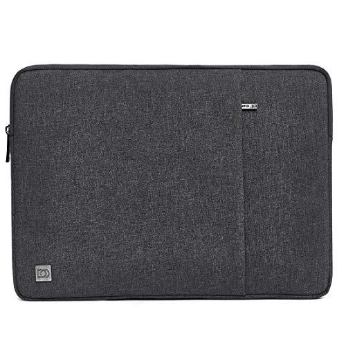 DOMISO 15.6 Zoll Wasserdicht Laptop Sleeve Case Notebook Hülle Schutzhülle Tasche Laptoptasche für 15.6