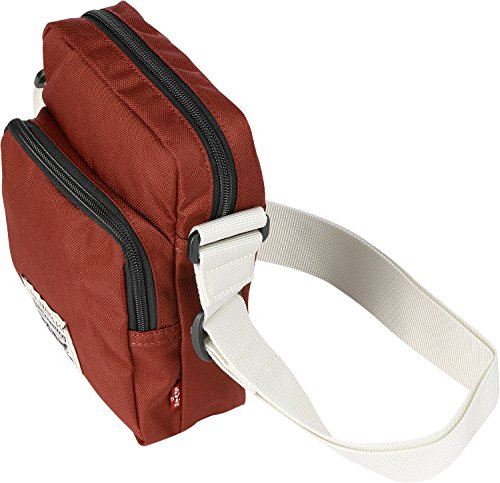 Levis L Series Small Cross Body Messenger Bag One Size Red