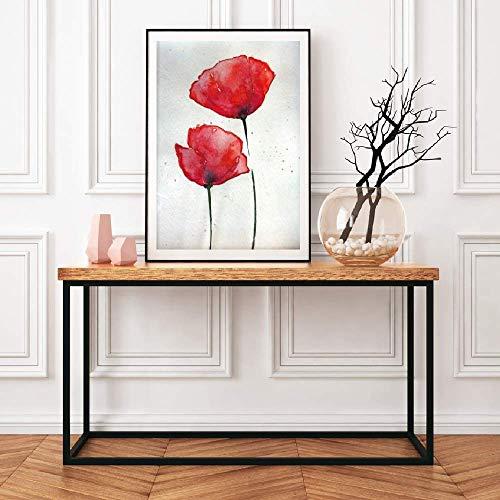 ARTPRIME Lámina para enmarcar de Flores, Cuadro Decorativo de Flores para Decorar tu casa impresión Papel 250Gr Tamaño (A3)