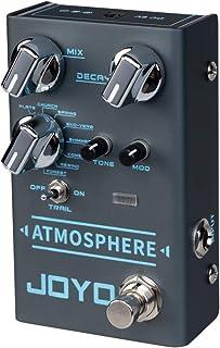 JOYO R-14 Atmospheres- Reverb Pedal, Multi-mode Reverb Effect Pedal with 9 Effects, Multi Pedal Effect, Guitar Multi Effect for Electric Guitar, Multi-pedal