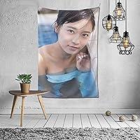 タペストリー小島瑠璃子/こじまるりこ Kojima Ruriko インテリア 壁掛け おしゃれ 室内装飾タペストリー 多機能 カバー カーテン 個性プレゼント ギフト 新居祝い結婚祝い プレゼント ウォール アート 152x102cm