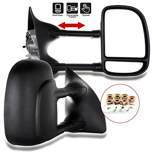 LUJUNTEC Tow Mirrors fit for 1999-2007 for ford for F250 for F350 for F450 for...