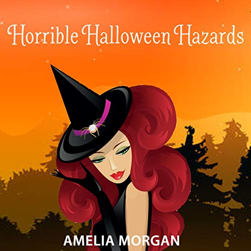 Horrible Halloween Hazards audiobook cover art