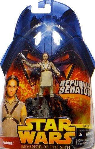 Hasbro Padme Amidala Republic Senator No.19 - Star Wars Revenge of the Sith Collection 2005