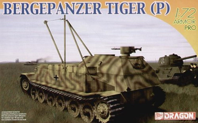 Dragon, 1 72, BERGEPANZER TIGER (P)   7227