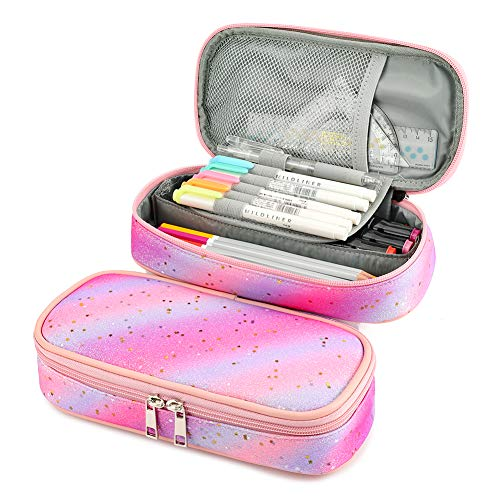 Mibasies Pencil Case for Little Girls and Kids Pen Pouch