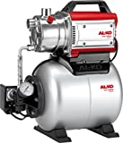AL-KO Hauswasserwerke HW 3000 Inox Classic (650 W Motorleistung, 3100 l/h max. Fördermenge, 55 m max. Förderhöhe, 17 l Druckkessel)