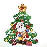 WeiShengDa Memorial Christmas Decorations,Christmas Tree Sticker, 2 pcs