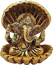Shell Ganesh Decorative Showpiece/ Ganesha Idols for Home Decor Murti God Idol Pooja Vinayagar Statue Lord Ganpati Mandir ...