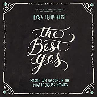 The Best Yes Audio Bible Study                   By:                                                                                                                                 Lysa TerKeurst                               Narrated by:                                                                                                                                 Lysa TerKeurst                      Length: 1 hr and 25 mins     Not rated yet     Overall 0.0