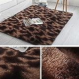 Jnszs Weiche Teppiche Anti-Rutsch-Plüsch Teppich Fußmatten Schlafzimmer Artificial Fellteppiche Weiches Kissen Wohnzimmer Teppich Teppich for Schlafzimmer Teppich (Color : G, Size : 140X200CM)