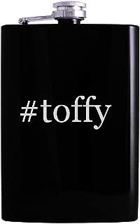 #toffy - 8oz Hashtag Hip Alcohol Drinking Flask, Black
