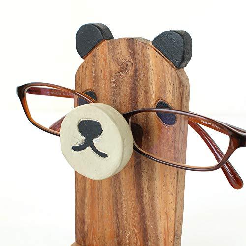 『メガネスタンド パンダ』 【メガネスタンド おしゃれ かわいい おもしろ 収納 眼鏡スタンド メガネ置き 眼鏡置き アニマルメガネスタンド 老眼鏡 めがね プレゼント アニマル 動物 雑貨】