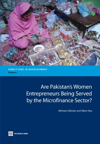 Are Pakistan's Women Entrepreneurs Being Served by the Microfinance Sector? (Directions in Development)