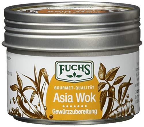 Fuchs Gewürze Asia Wok Gewürzzubereitung für die schnelle, asiatische Küche in der wiederverwendbaren Dose, 3er Pack (3 x 60 g)